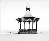 The bandstand in winter