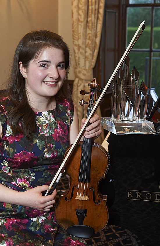 susannah mack, violin - highland young musicians of the year 2014