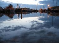 kirkwall basin at 11.40 pm, mid june 2008. picture courtesy of steven heddle