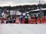 Race at Yllas, Lapland