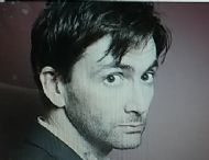 David Tennant and lookalike