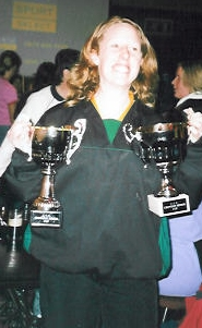In the days when we didn't win any, Roisin boosted cups - Croydon 2001