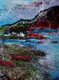 Red boats, Plockton