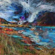 Sheltered moorings, Plockton