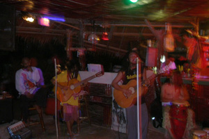 reggae band at the jungle bar, thong nai pan noi, koh phangan