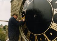 Clock refurbishment 1996.