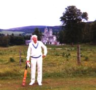 Sam Morse at Balmoral Cricket Ground in 1981