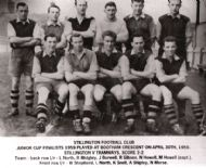 Stillington Junior Cup Team 1959