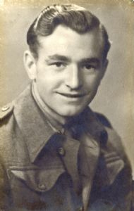 cecil wood. photograph taken shortly after his enlistment.