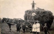 Haymaking c1910.