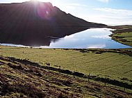 Loch Mor on a spring morning 5 minutes walk from Kelpie