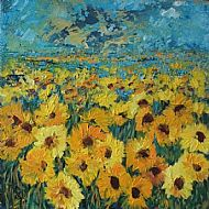 Late Sunflowers