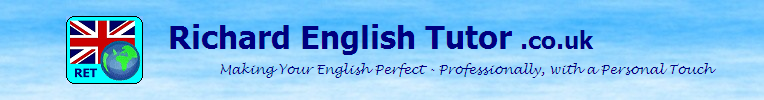 Professional English Tuition and Proofreading - London UK & worldwide