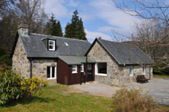 river conon fishing accommodation, self-catering