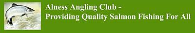 link to alness angling club website, river alness
