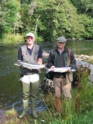 salmonquest salmon fishing holidays, river alness, salmon fishing courses