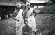 Cpl Eddie Holt MM and friends Malaya Scouts