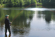 troutquest trout fly fishing instruction and 'learn to fly fish' courses, evanton, ross-shire
