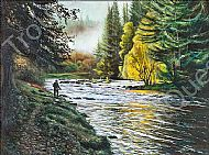 Dalreoch Falls Print