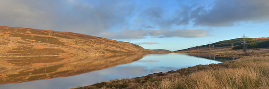 troutquest excursion - wild brown trout fishing on loch buidhe, sutherland