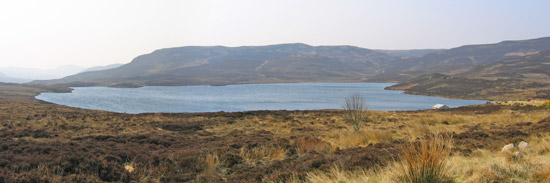 troutquest excursion - wild brown trout fishing on loch lannsaidh, sutherland
