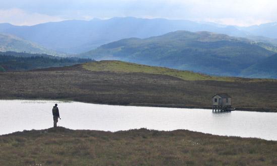 troutquest, brown trout fishing, tomich lochs, inverness-shire, scotland