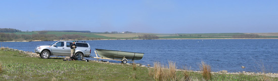 troutquest excursion - wild brown trout fishing on loch scarmclate, caithness.