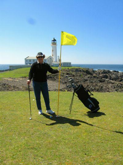 Fair Isle Lighthouse Keepers Golf Course