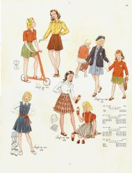 Girls dresses of the 1950s #2