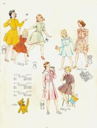 Girls dresses of the 1950s #1