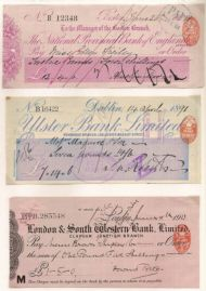 More old UK cheques