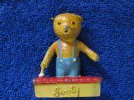 Sooty Lead Figure