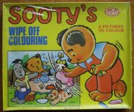 Sooty's Wipe Off Colouring
