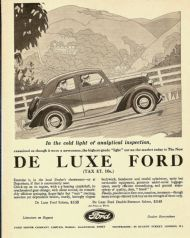 De Luxe Ford 1935