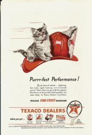 Texaco Fire Chief gasoline 1947 #1
