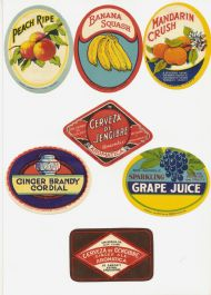Soft Drinks labels 1950s #2
