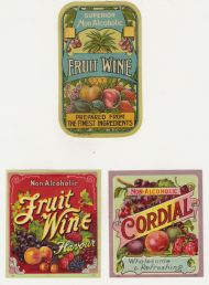 Soft Drinks labels 1950s #5