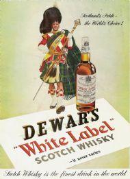 Dewars White Label Scotch Whisky 1953