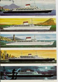 Ships of the Italian Line 1956