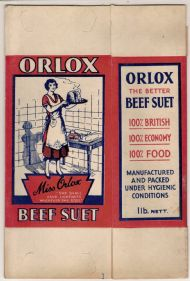 Orlox Beef Suet package