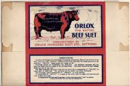 Orlox Beef Suet Package back