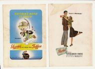 2 more Sharpes Toffee ads 1950