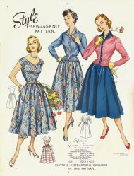 Style 1950s patterns #1