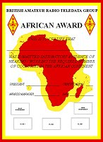 BARTG African Award