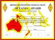 BARTG Oceania Award