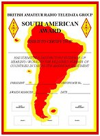 BARTG South America Award