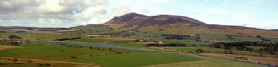 view of the clyde and tinto hill from the east - copyright of ken foulis