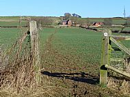 Jurassic Way, approaching Honey Hill Farm