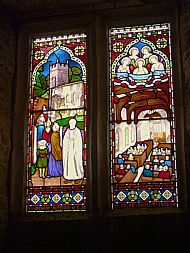Stained Glass Window, St. Denys Church