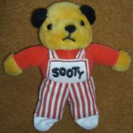 Sooty Finger Puppet